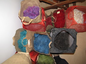 A small sample of 2012 wool