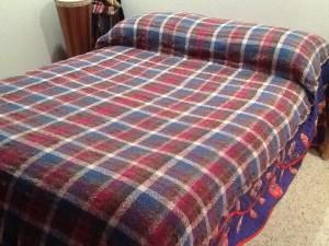 Blanket before fulling